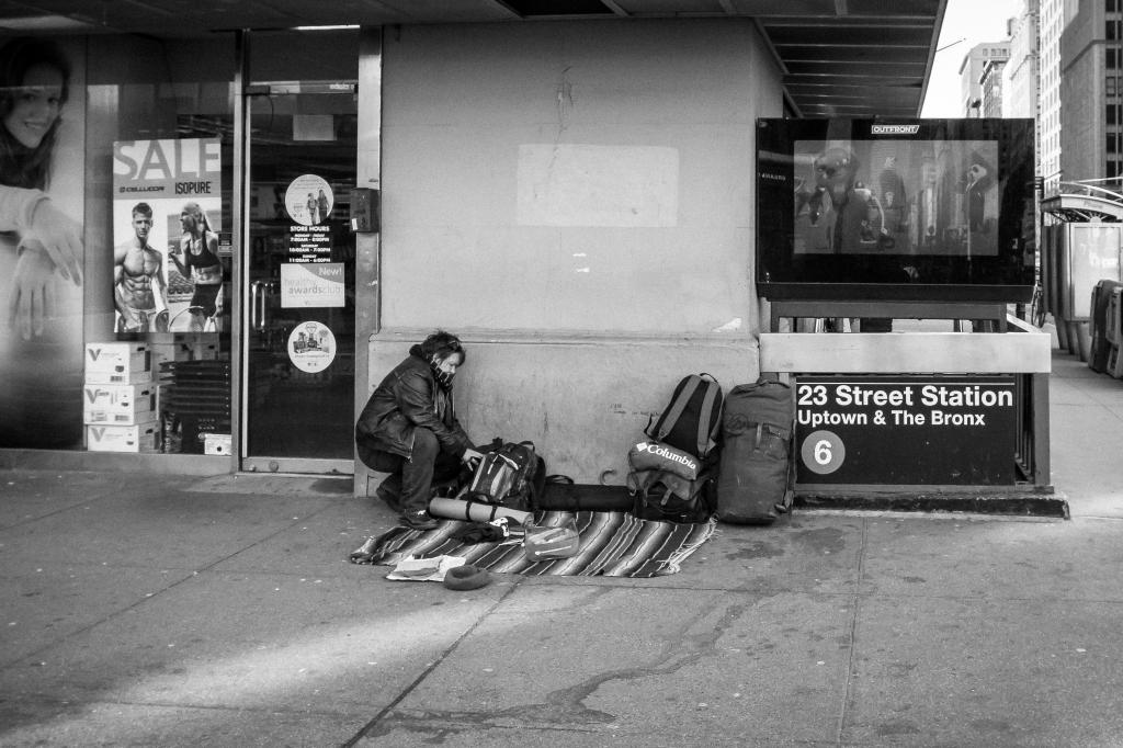StreetSleepSubway